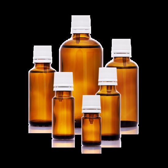 Folyadéküveg és kupak cseppentőbetéttel, 30 ml
