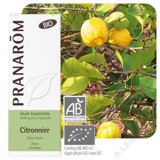 Citrom illóolaj (Citrus Limonum) - BIO - 10 ml